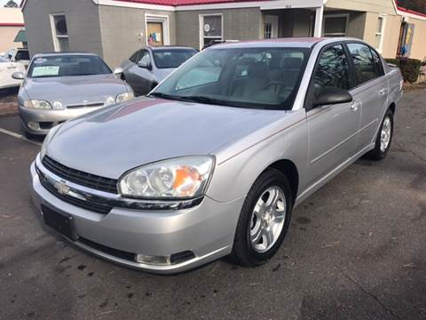 2005 Chevrolet Malibu for sale at Edge Auto Sale Inc. in Sanford NC