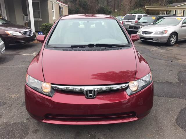 2007 Honda Civic for sale at Edge Auto Sale in Sanford NC