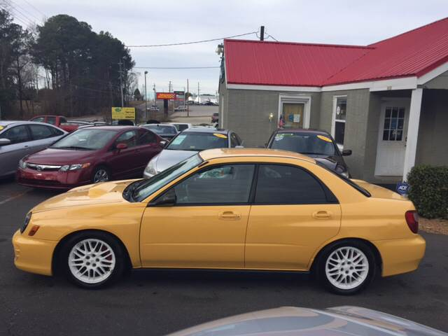 2003 Subaru Impreza for sale at Edge Auto Sale Inc. in Sanford NC