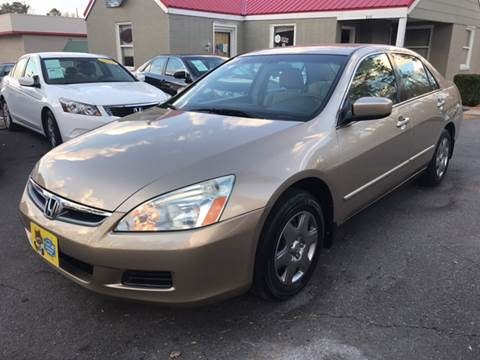 2006 Honda Accord for sale at Edge Auto Sale Inc. in Sanford NC