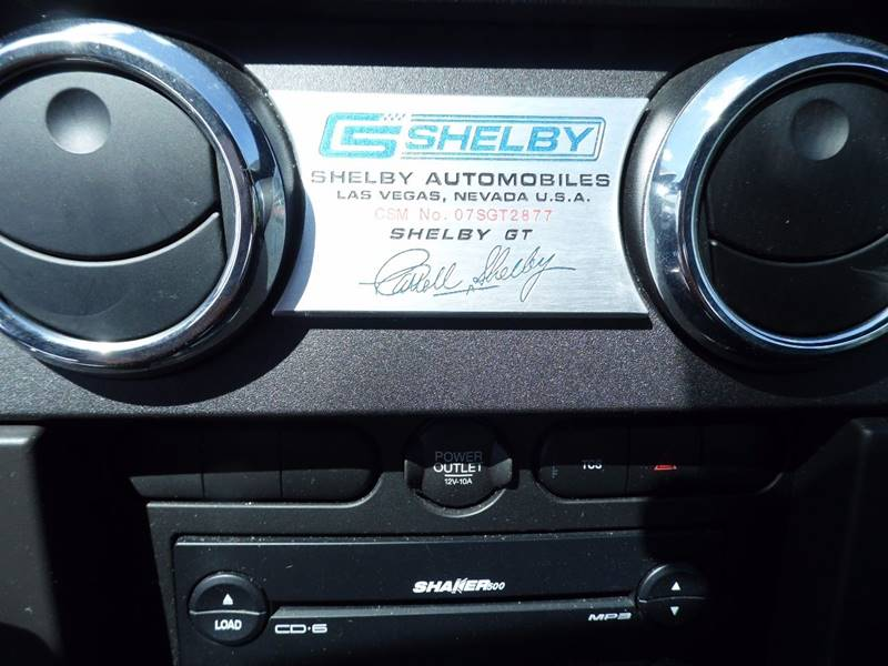 2007 Ford Mustang SHELBY GT350 - Mount Pleasant IA