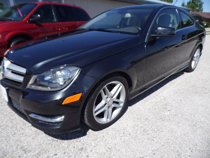 2013 Mercedes-Benz C-Class AWD C 350 4MATIC 2dr Coupe - Mount Pleasant IA