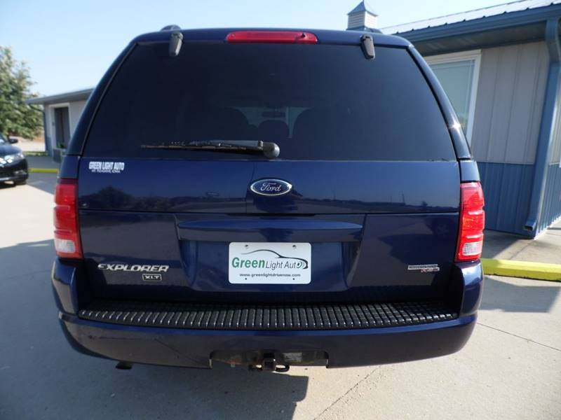 2005 ford explorer 4dr xlt 4wd suv in mount pleasant ia green light auto. Cars Review. Best American Auto & Cars Review