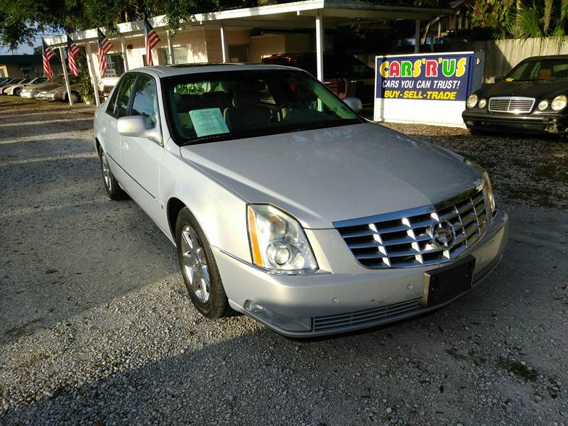 2006 cadillac dts luxury i 4dr sedan in new smyrna beach fl d d detail experts cars r us. Black Bedroom Furniture Sets. Home Design Ideas