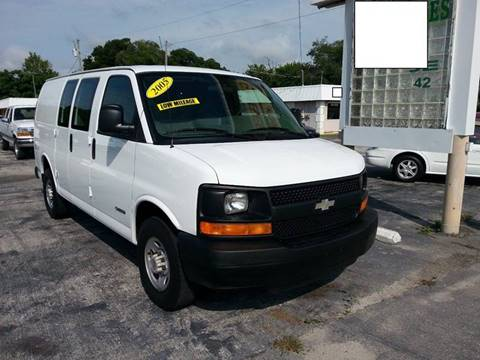 2005 Chevrolet Express Cargo for sale at D & D Detail Experts / Cars R Us in New Smyrna Beach FL