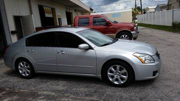 2008 Nissan Maxima for sale at D & D Detail Experts / Cars R Us in New Smyrna Beach FL