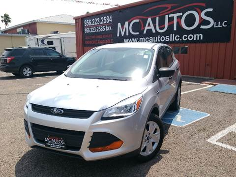 2013 Ford Escape for sale at MC Autos LLC in Palmview TX