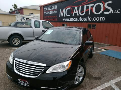 2012 Chrysler 200 for sale at MC Autos LLC in Palmview TX