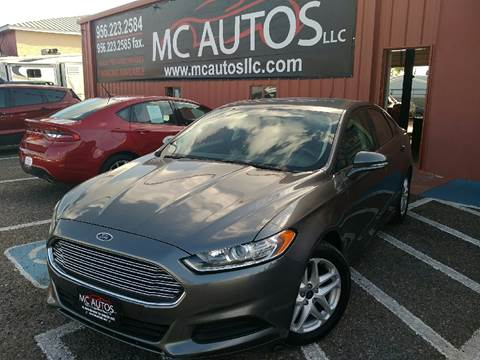 2013 Ford Fusion for sale at MC Autos LLC in Pharr TX