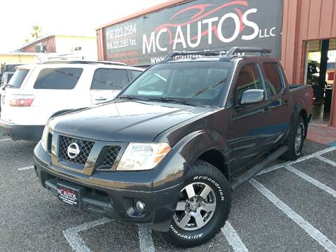 2011 Nissan Frontier for sale at MC Autos LLC in Pharr TX