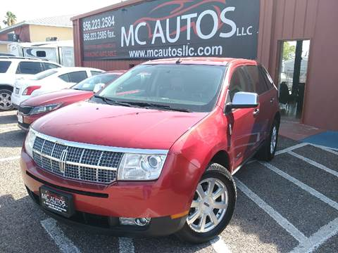 2009 Lincoln MKX for sale at MC Autos LLC in Pharr TX