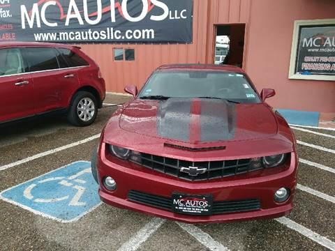 2010 Chevrolet Camaro for sale at MC Autos LLC in Pharr TX