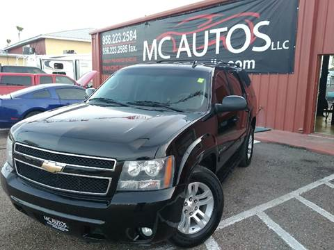 2009 Chevrolet Tahoe for sale at MC Autos LLC in Palmview TX