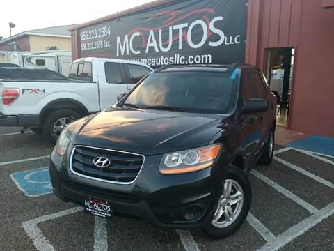 2010 Hyundai Santa Fe for sale at MC Autos LLC in Palmview TX