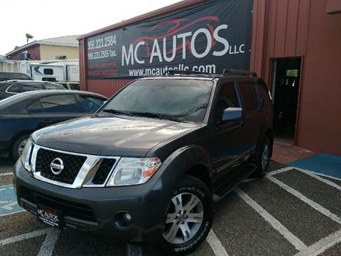 2011 Nissan Pathfinder for sale at MC Autos LLC in Palmview TX