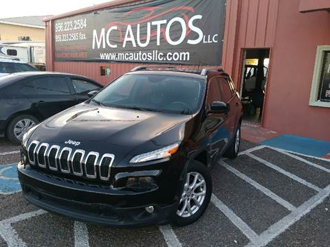 2014 Jeep Cherokee for sale at MC Autos LLC in Palmview TX