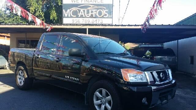 2012 Nissan Titan for sale at MC Autos LLC in Pharr TX