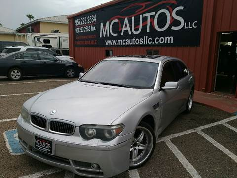 2003 BMW 7 Series for sale in Palmview, TX