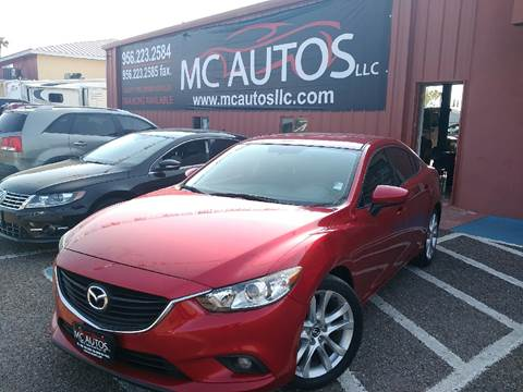 2015 Mazda MAZDA6 for sale at MC Autos LLC in Palmview TX