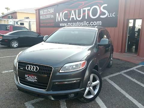 2007 Audi Q7 for sale at MC Autos LLC in Palmview TX
