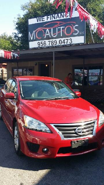 2014 Nissan Sentra for sale at MC Autos LLC in Pharr TX