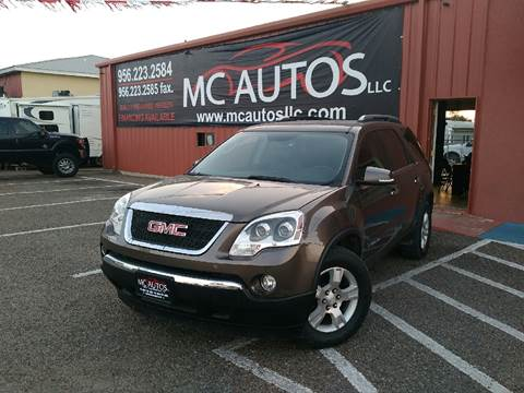 2008 GMC Acadia for sale at MC Autos LLC in Palmview TX