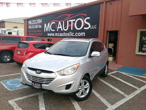 2011 Hyundai Tucson for sale at MC Autos LLC in Palmview TX