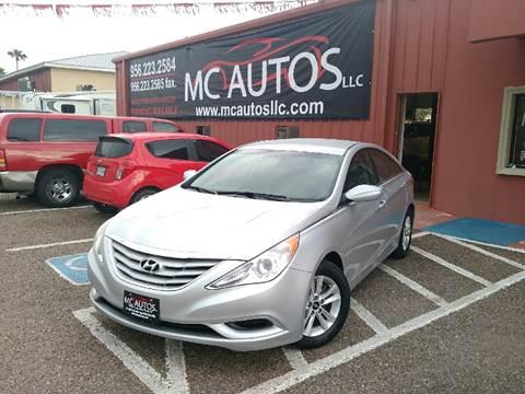 2013 Hyundai Sonata for sale at MC Autos LLC in Palmview TX