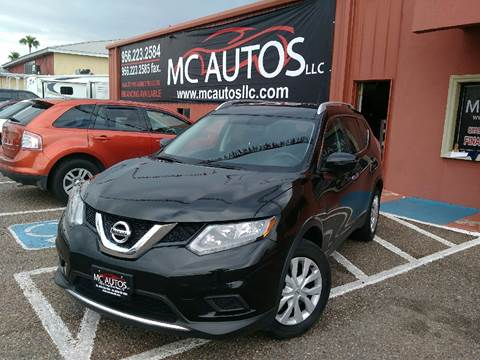 2016 Nissan Rogue for sale at MC Autos LLC in Palmview TX