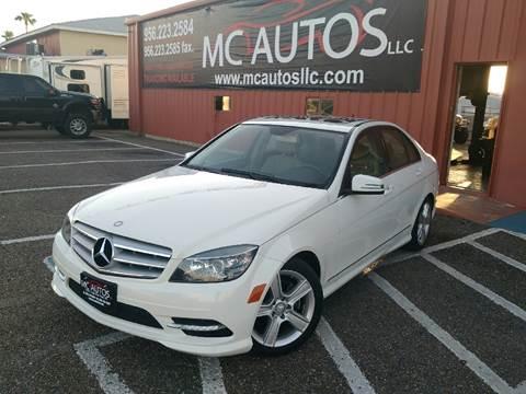 2011 Mercedes-Benz C-Class for sale at MC Autos LLC in Palmview TX
