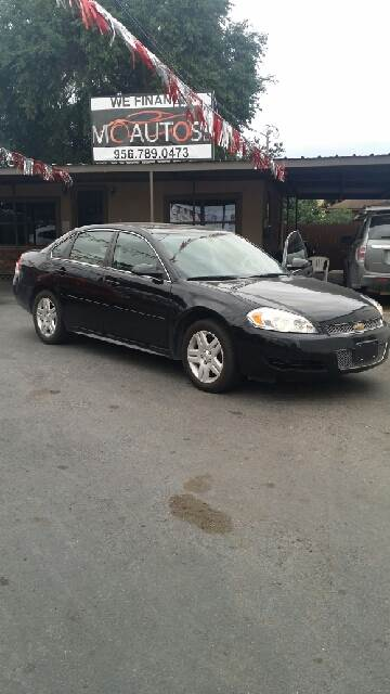 2014 Chevrolet Impala Limited for sale at MC Autos LLC in Palmview TX