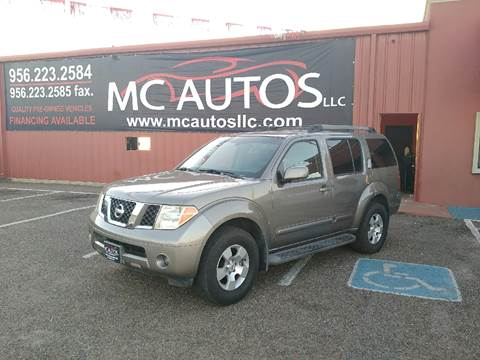 2007 Nissan Pathfinder for sale at MC Autos LLC in Palmview TX