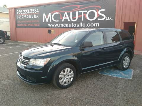 2014 Dodge Journey for sale at MC Autos LLC in Palmview TX