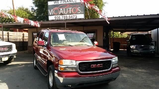 2003 GMC Yukon for sale at MC Autos LLC in Palmview TX