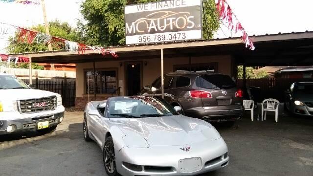 1998 Chevrolet Corvette for sale at MC Autos LLC in Palmview TX