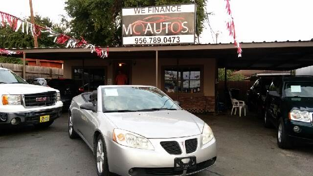 2007 Pontiac G6 for sale at MC Autos LLC in Pharr TX