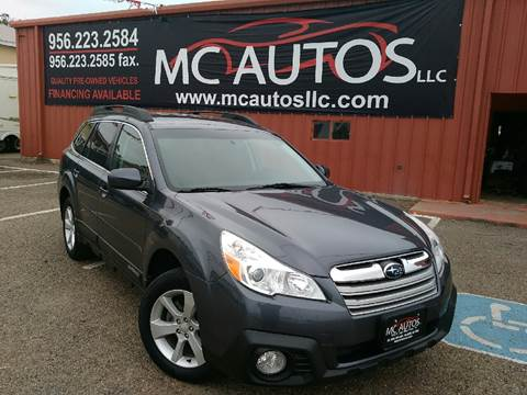 2014 Subaru Outback for sale at MC Autos LLC in Palmview TX