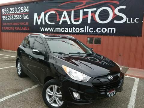 2013 Hyundai Tucson for sale at MC Autos LLC in Palmview TX