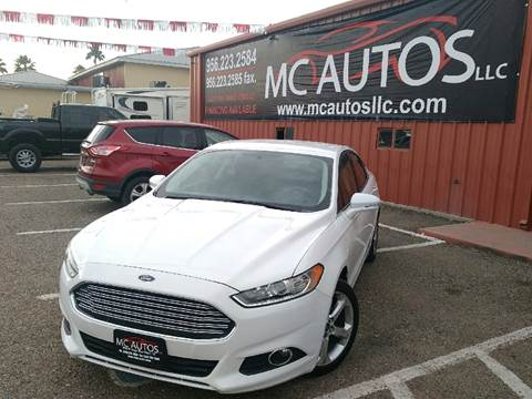 2014 Ford Fusion for sale at MC Autos LLC in Palmview TX