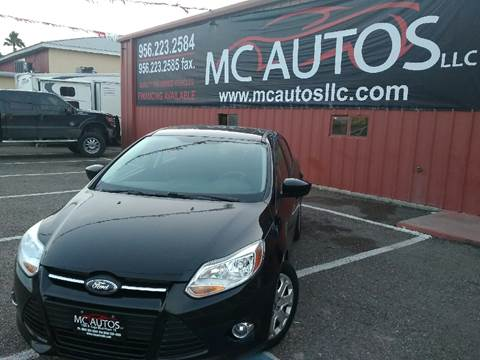 2012 Ford Focus for sale at MC Autos LLC in Palmview TX