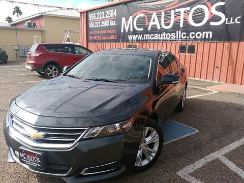 2015 Chevrolet Impala for sale at MC Autos LLC in Palmview TX