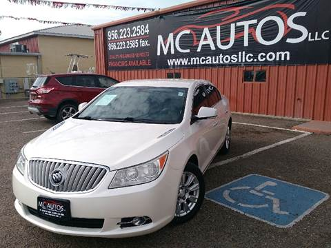 2012 Buick LaCrosse for sale at MC Autos LLC in Palmview TX