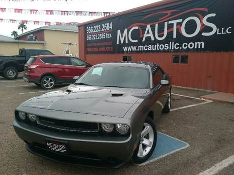 2011 Dodge Challenger for sale at MC Autos LLC in Palmview TX