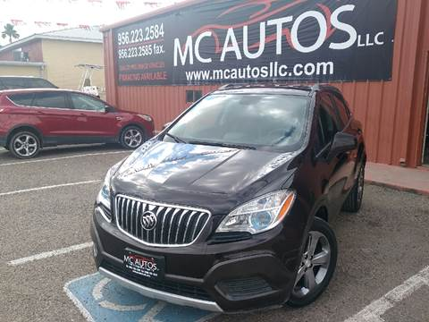 2013 Buick Encore for sale at MC Autos LLC in Palmview TX