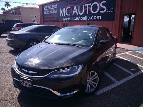 2016 Chrysler 200 for sale at MC Autos LLC in Palmview TX