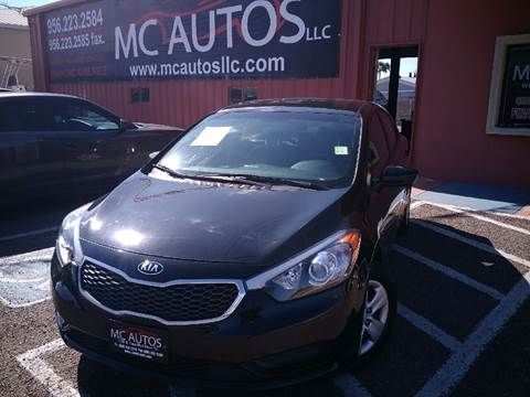2016 Kia Forte for sale at MC Autos LLC in Palmview TX