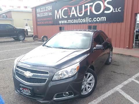2013 Chevrolet Malibu for sale at MC Autos LLC in Palmview TX