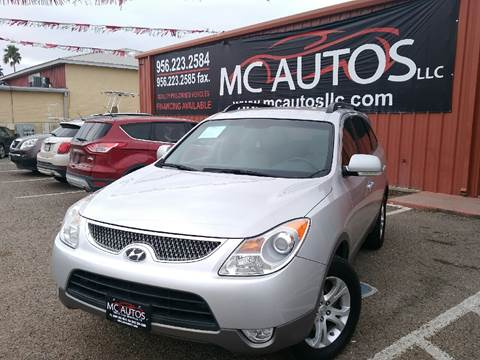 2011 Hyundai Veracruz for sale at MC Autos LLC in Palmview TX