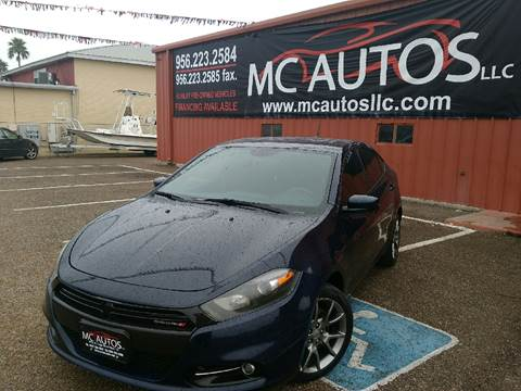 2014 Dodge Dart for sale at MC Autos LLC in Palmview TX