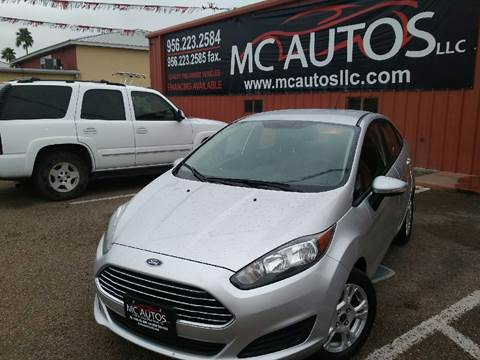 2014 Ford Fiesta for sale at MC Autos LLC in Palmview TX